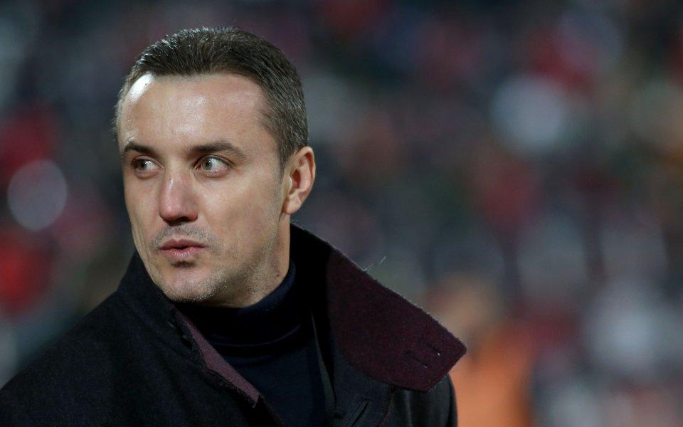 Наставникът на Лудогорец Станислав Генчев съжали за точката на отбора
