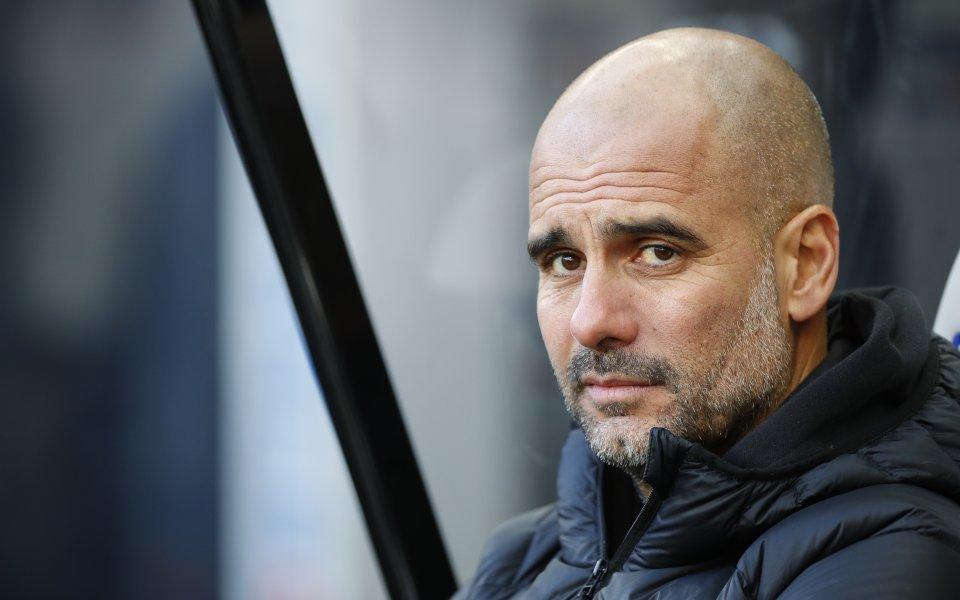 Мениджърът на Манчестър Сити Хосеп Гуардиола няма намерение да мести