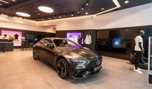 <p>Mercedes откри луксозен бутик в столичен МОЛ</p>