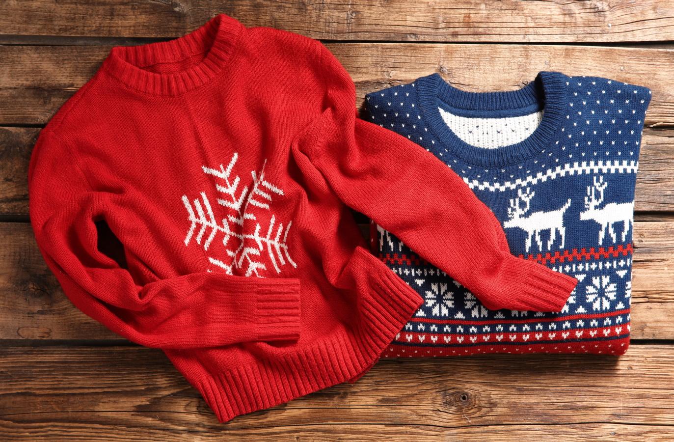 <p>Пуловер с коледна тематика за двама</p>  <p>Това е перфектният подарък за най-добър приятел или гадже. И тук можете да закупите подобен и за вас. Няма по-забавно нещо от това да излезете с приятел навън и да сте с еднакви пуловери.</p>