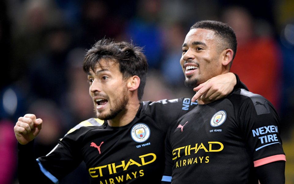 Отборитена Бърнли иМанчестър Сити играят при резултат 0:1в двубой от
