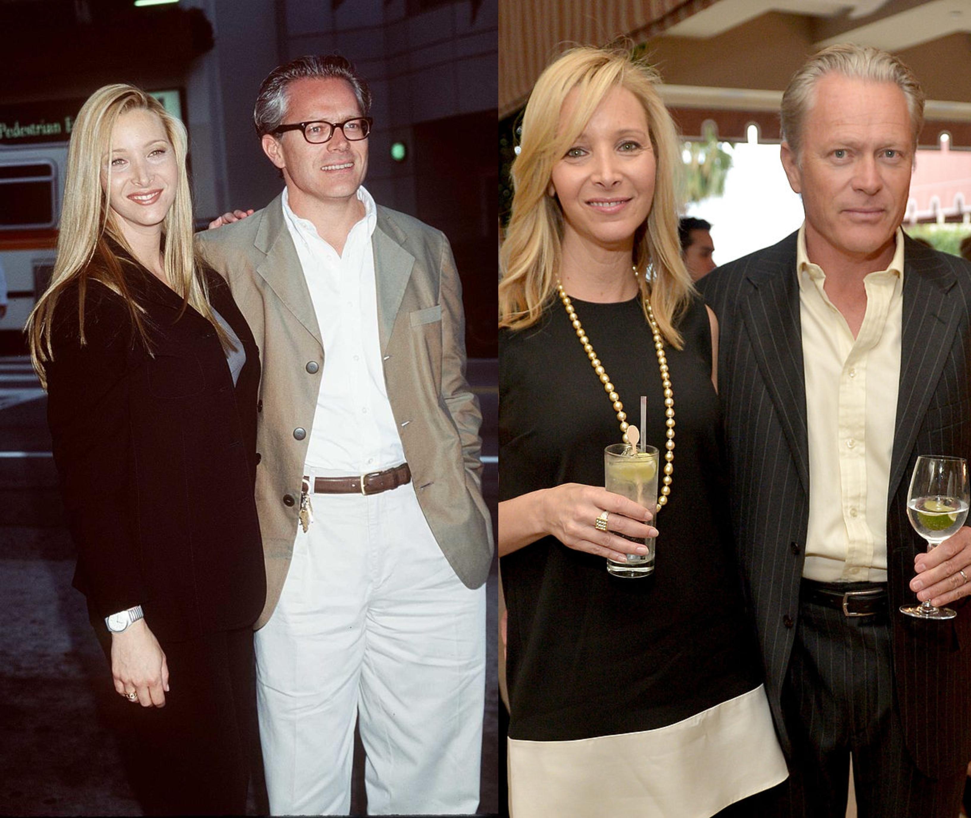 <p><strong>Лиза Кудроу и Майкъл Стърн&nbsp;</strong>сключват брачен съюз преди 24 г.</p>
