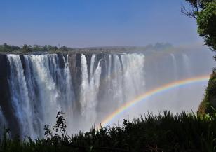Пресъхна водопадът Виктория