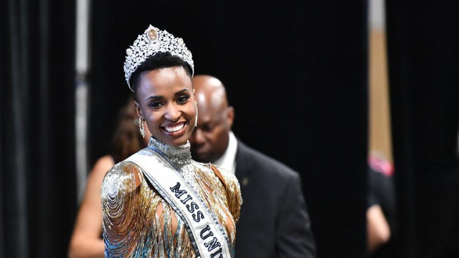 Мис Южна Африка грабна короната на Мис...