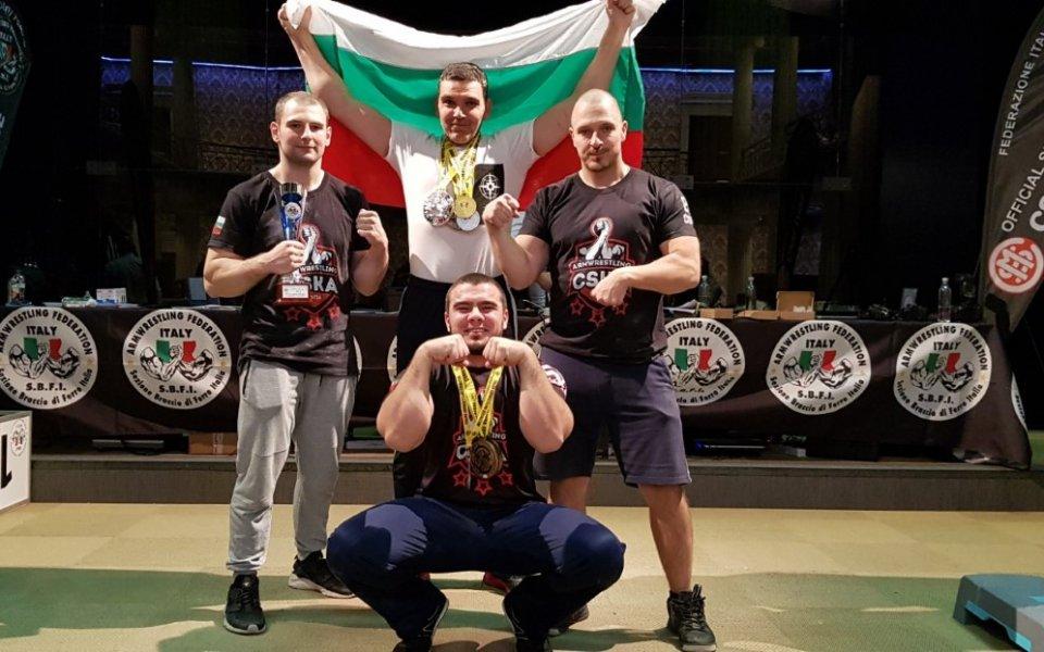 СК ЦСКА се представи силно на турнир по канадска борба.