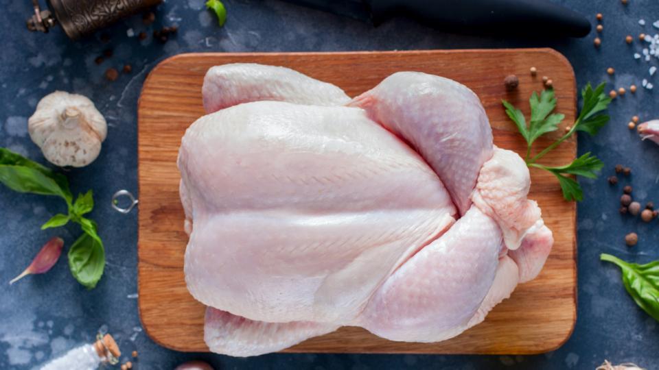 месо яйца храна пиле