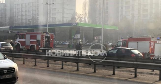 България Извънредна ситуация! Катастрофа и изтичане на газ на Цариградско