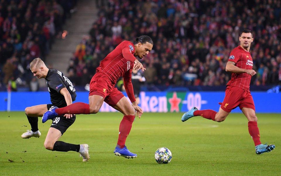 Тимоветена РБ Залцбург и европейския шампион Ливърпул играят при резултат
