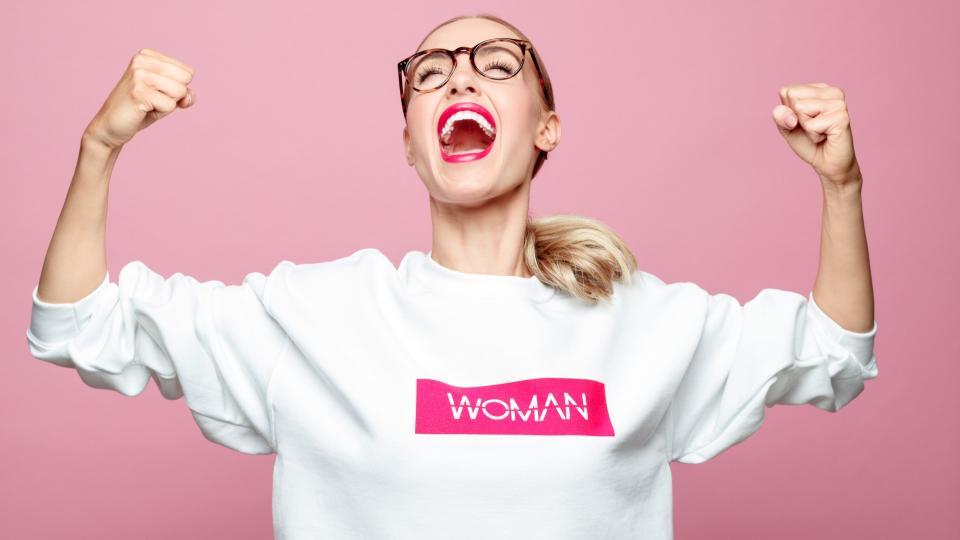 жена успех