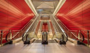 Вижте новата линия на метрото в Копенхаген
