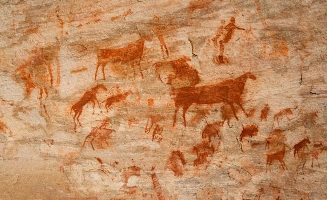 Откриха най-древната скална рисунка на света