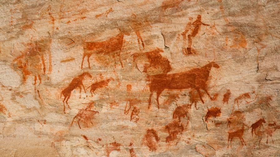 <p>Откриха <strong>най-древната </strong>скална рисунка&nbsp;</p>