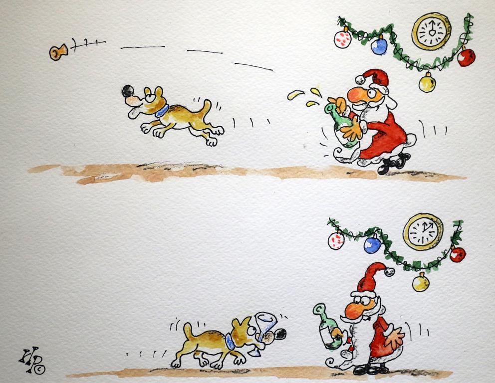 <p>Ириен Трендафилов Куче с тапа и бутилка</p>