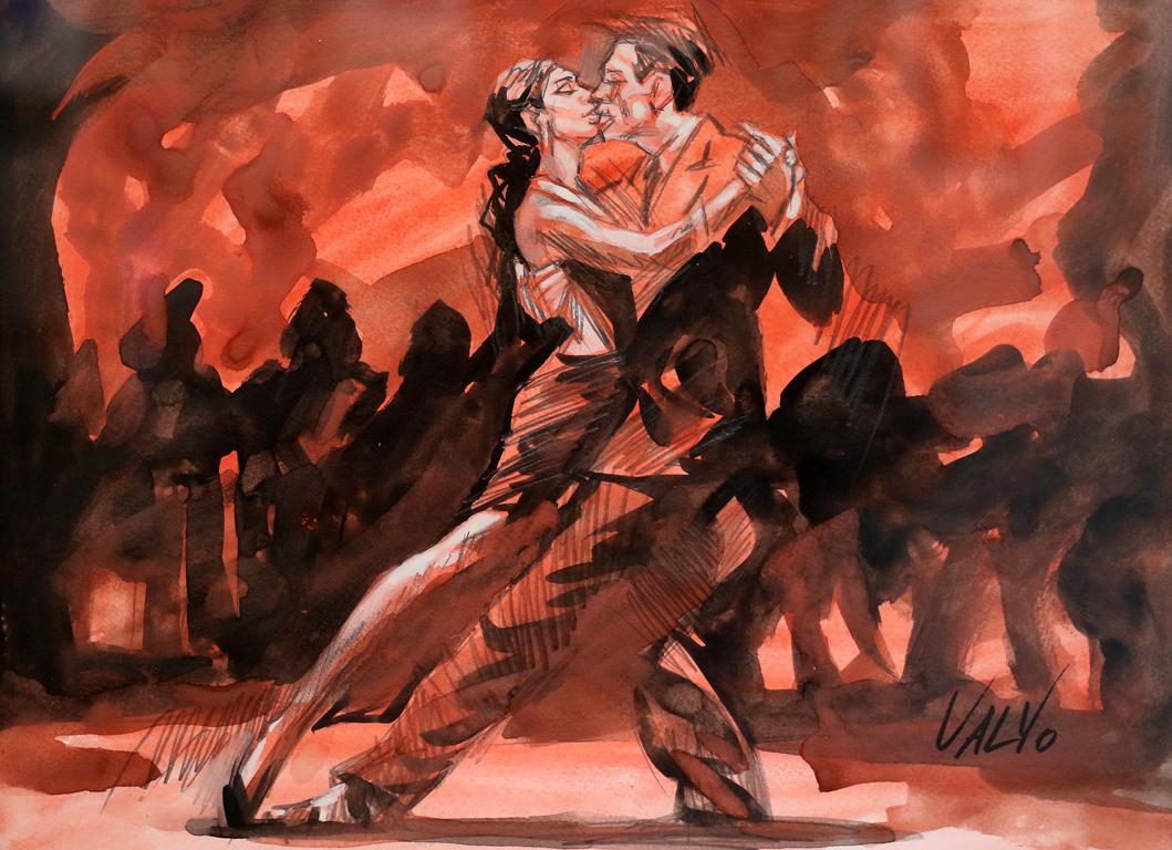 <p>Валентин Георгиев Танцуващи III</p>
