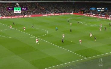 Стърлинг заби нов удар по амбициите на Арсенал