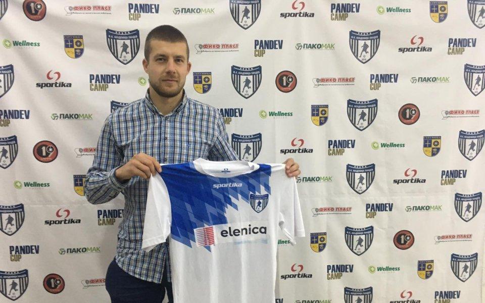 Бивш защитник на ЦСКА подписа в Македония