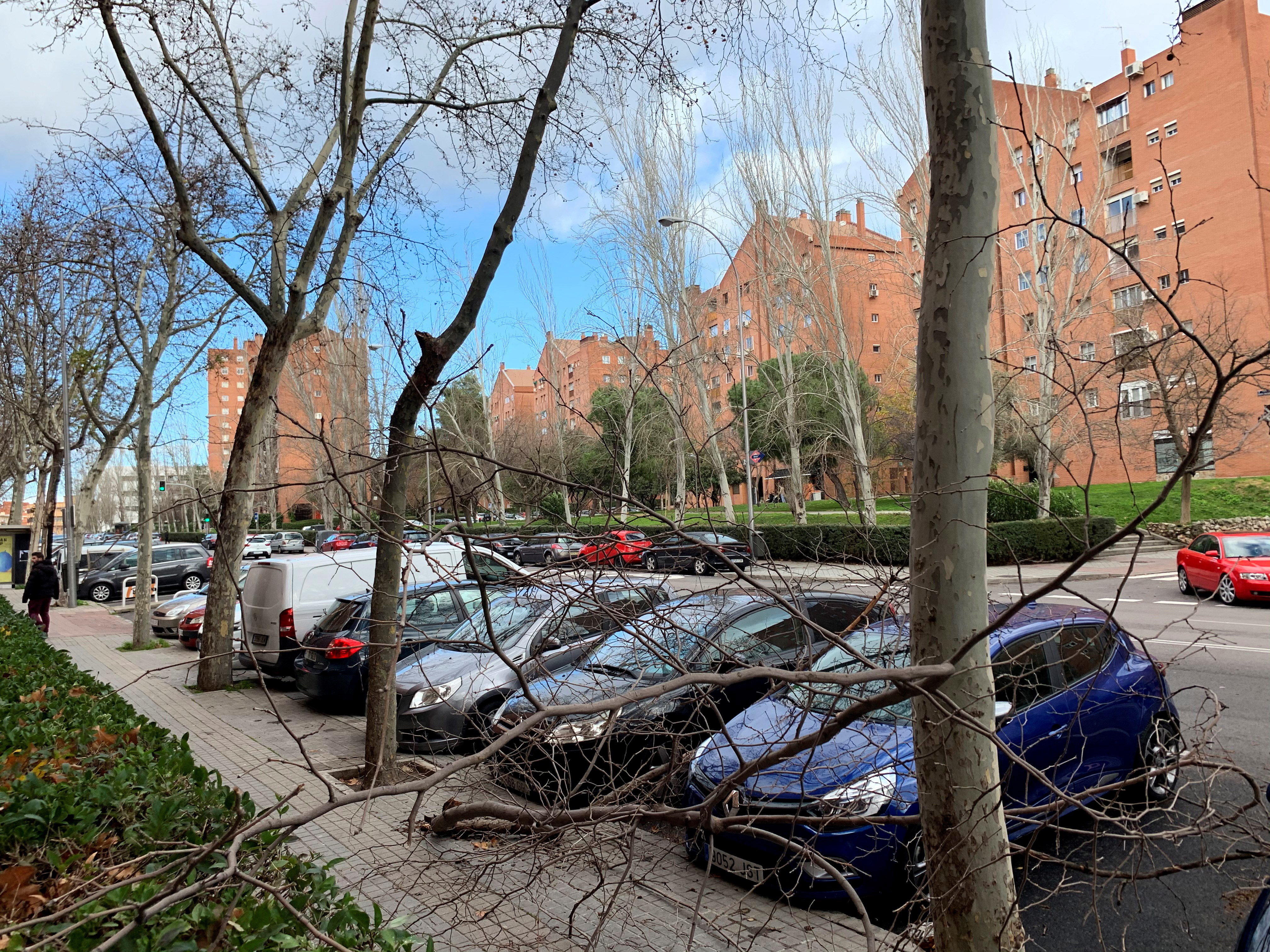 Лошо време в Испания, Португалия, Франиця