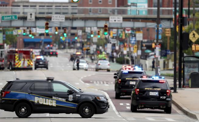 Стрелба в центъра на Балтимор, 7 ранени