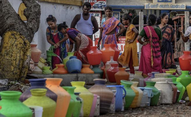 Водната криза в град Ченай