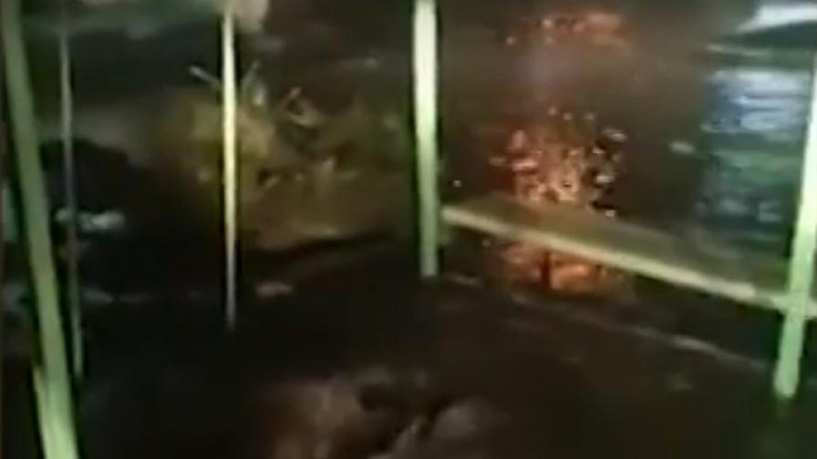 Голяма авария, наводнение, 25 000 души без вода в Асеновград