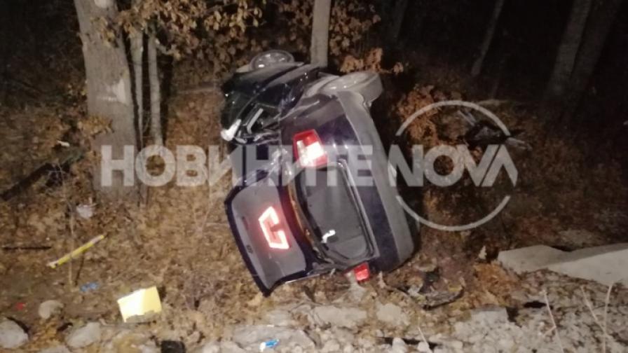 Три коли катастрофираха на пътя София - Варна