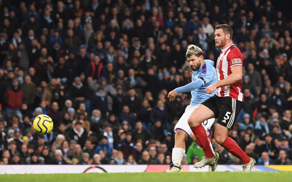 Манчестър Сити и Шефилд Юнайтед играят при 2:0 в последния