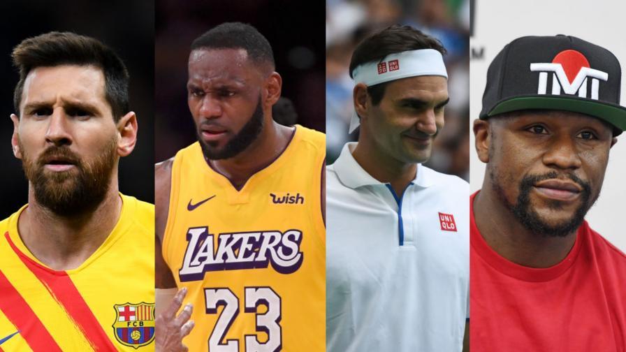 <p>Вижте&nbsp;<strong>най-високоплатените спортисти </strong>на десетилетието</p>