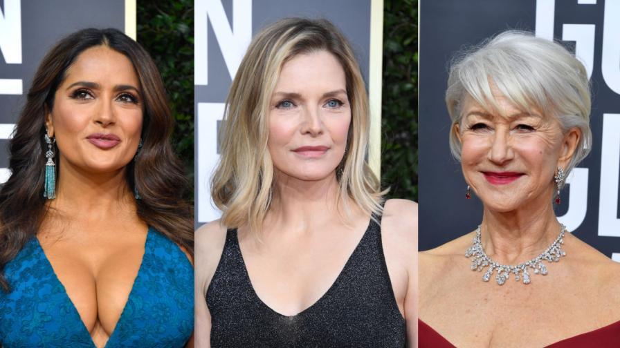 <p><strong>7 дами над 50 г.,</strong> които не се страхуват от изрязаното<strong> деколте</strong></p>