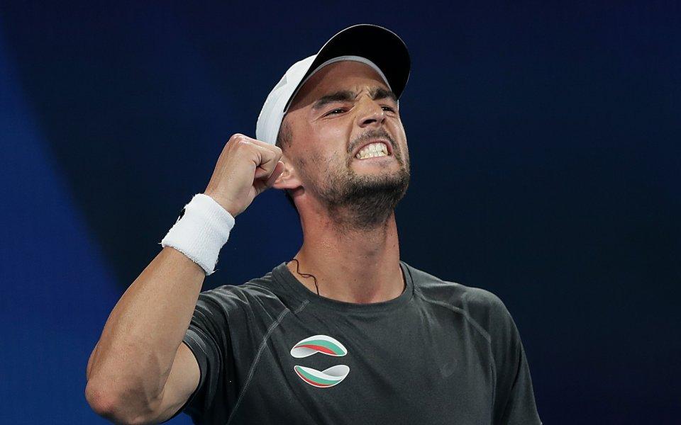 Най-добрият български тенисист Григор Димитров се изкачи с една позиция