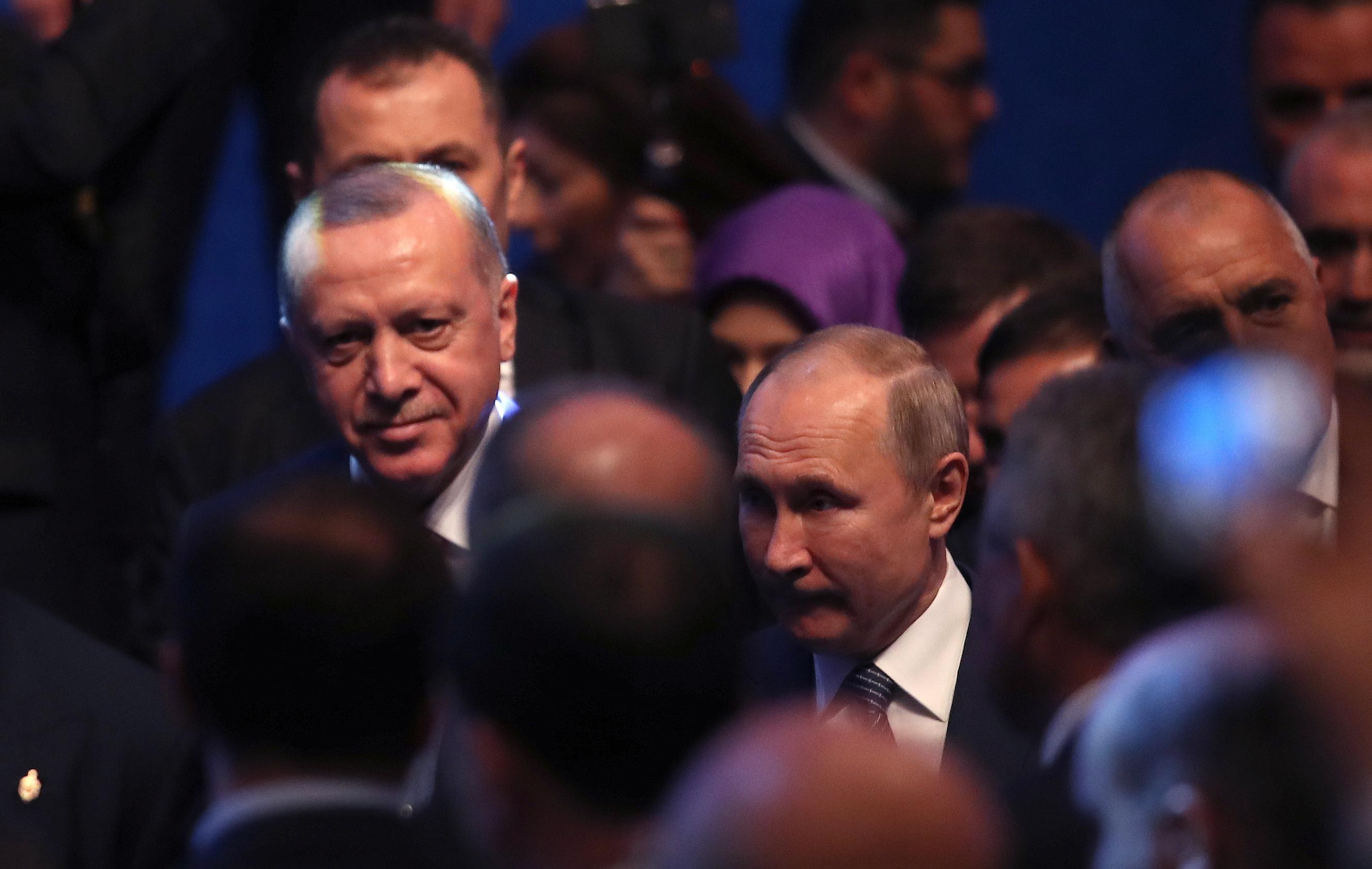 На церемонията присъстваха министър-председателят Бойко Борисов и президентите на Русия и Турция Владимир Путин и Реджеп Тайип Ердоган