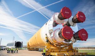 """С тази нова """"мега ракета"""" НАСА ще прати хора на Луната"""