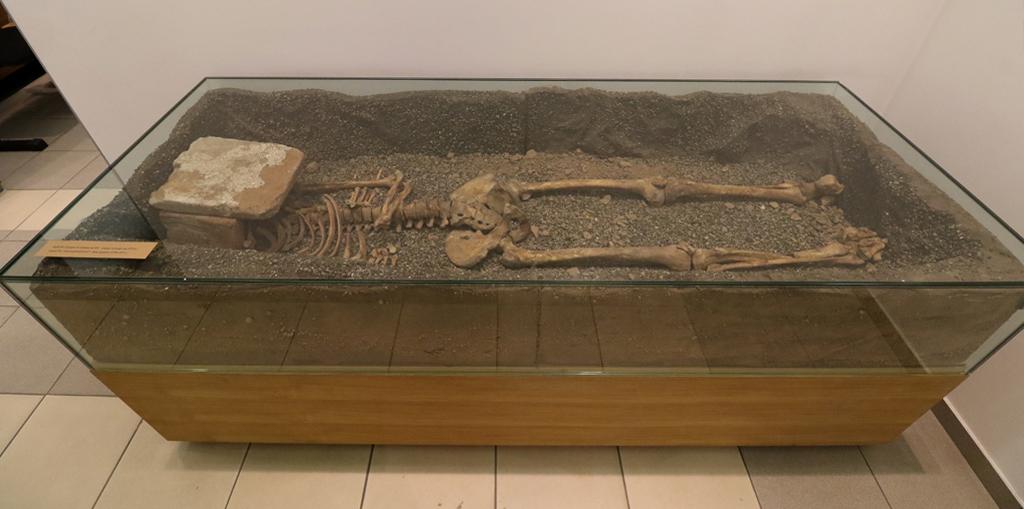 <p>Гроб номер 1 (втората половина на XV век-първата четвърт на XVI век)</p>