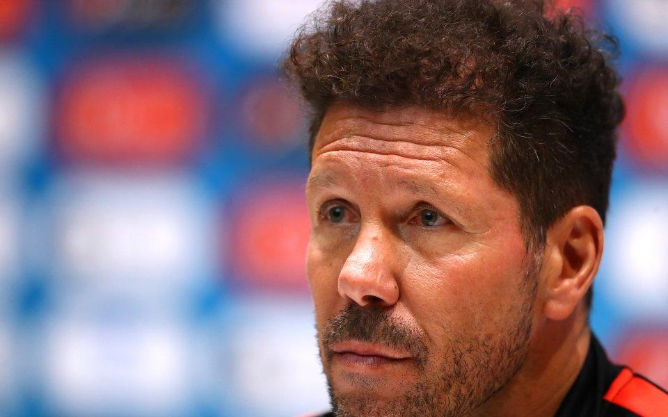 Симеоне: За Атлетико няма нищо по-важно от мача с Реал