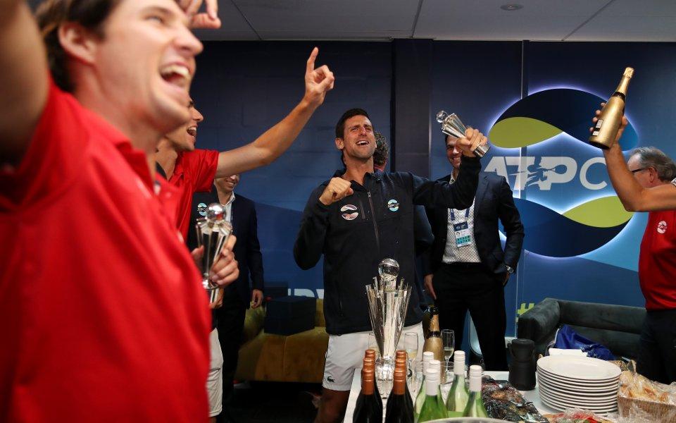 След триумфа на Сърбия за ATP Cup тенисистите от западната