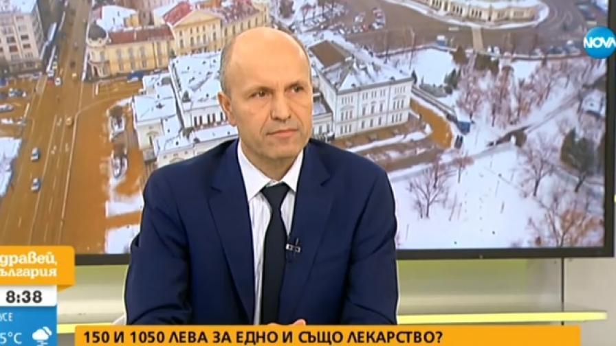 На снимката: адвокат Андрей Дамянов