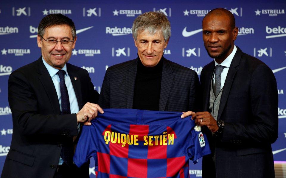 Синът на Кике Сетиен бил от Реал Мадрид