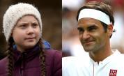 <p><strong>Федерер </strong>отвърна на <strong>критиката </strong>на Грета Тунберг</p>