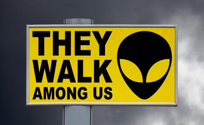Възможно ли е невидими извънземни да съществуват сред нас?