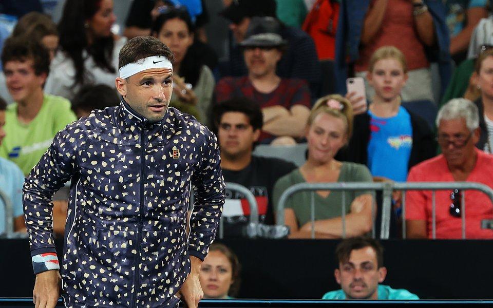 Най-добрият български тенисист Григор Димитров отговори накритикитеотносно облеклото, с което