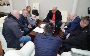 Бойко Борисов прие фенове на Ботев Пловдив