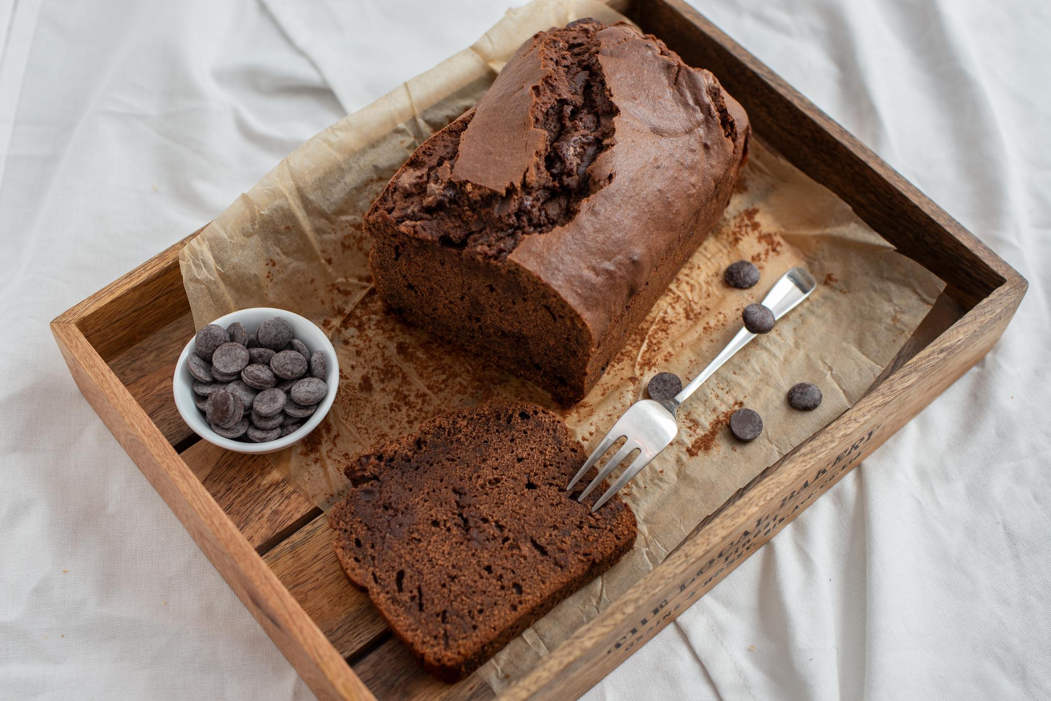 <p>3. Шоколадов бананов хляб</p>