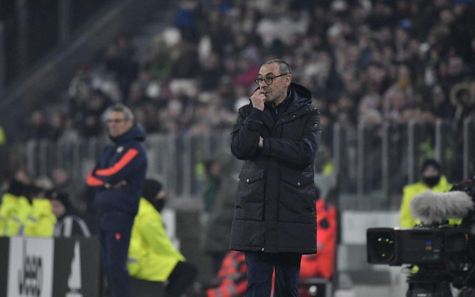 Треньорът на Ювентус Маурицио Сари изрази своята благодарност към майката