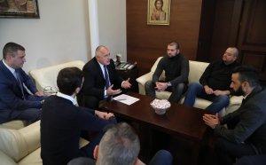 Срещата на Борисов с феновете на Левски прключи! Ето какво си казаха двете страни