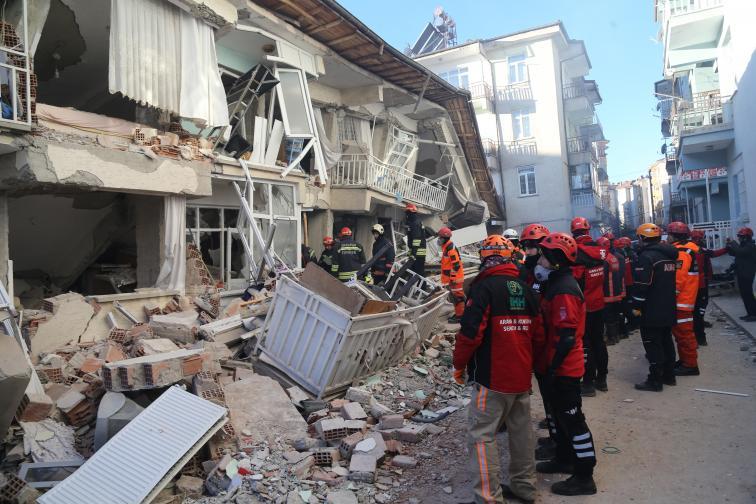 Турция земетресение