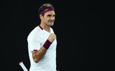 Федерер без проблеми на 1/4-финалите на Australian open