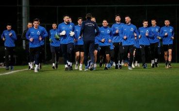 Първа тренировка на Левски в Алания