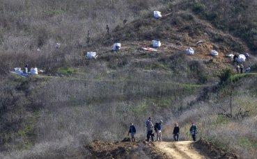Три от девет тела са намерени след трагедията с Коби