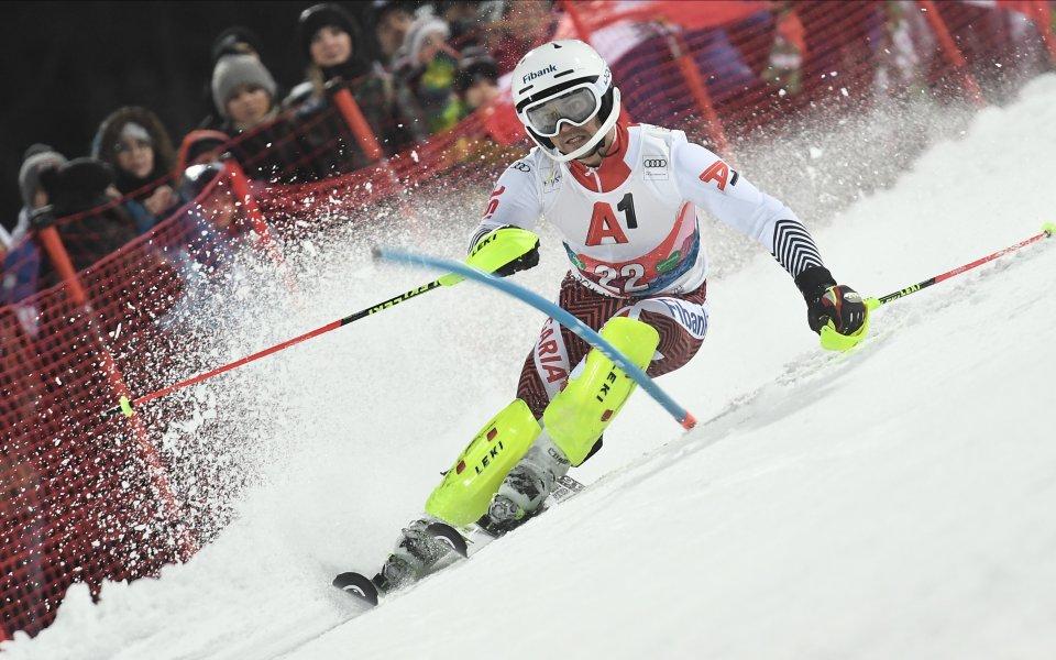 Асът ни в алпийските ски Алберт Попов направи пореден силен