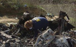 Показаха шокиращи кадри от зловещата катастрофа на хеликоптера на Коби (ВИДЕО)