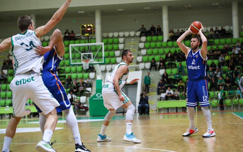 Балкан остана с точка начело на класирането в Националната баскетболна
